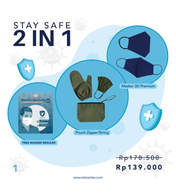 2 In 1 Stay Safe Bundle A