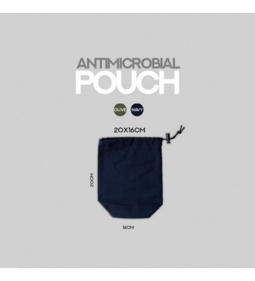 Antimicrobial Pouch String