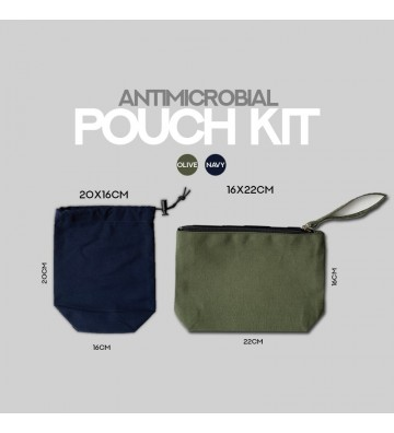 Antimicrobial Pouch Kit
