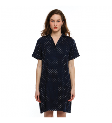 Small Dotted Home Dress